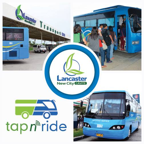 "LANCASTER NEW CITY CAVITE TAP N"" RIDE"