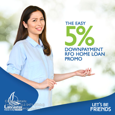 LOOKING FOR A READY FOR OCCUPANCY HOUSE? WE HAVE AN EASY 5% DOWNPAYMENT PROMO