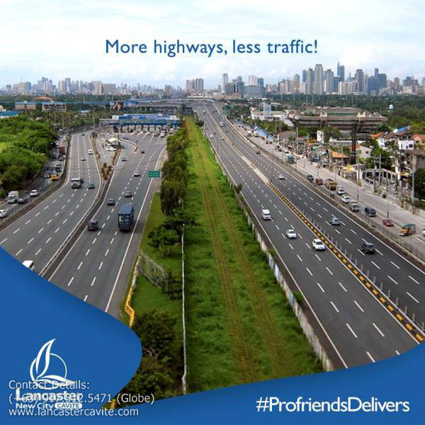 MORE HIGHWAYS, LESS TRAFFIC