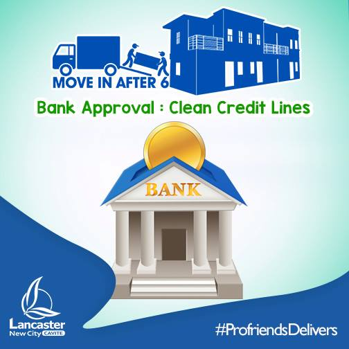 BANK APPROVAL: CLEAN CREDIT LINES