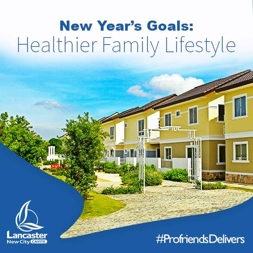 NEW YEAR GOALS: HEALTHIER FAMILY LIFESTYLE