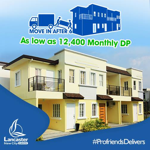 MOVE IN AFTER 6 MONTHS, AS LOW AS 12,400 MONTHLY DP