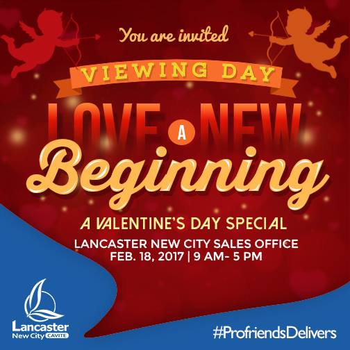 VALENTINE'S DAY CELEBRATION IN LANCASTER NEW CITY CAVITE