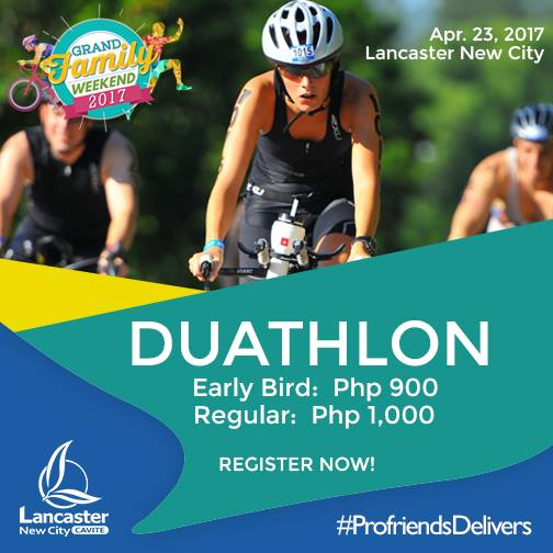 GRAND FAMILY WEEKENDS DUATHLON CATEGORY