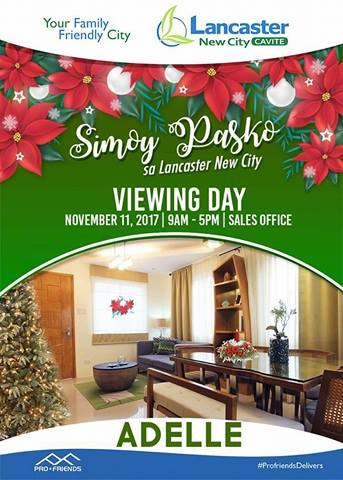 SIMOY PASKO SA LANCASTER NEW CITY! VIEWING DAY