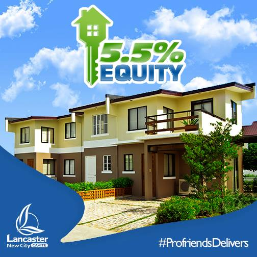 5.5% DOWNPAYMENT PROMO!
