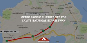 METRO PACIFIC PURSUES OPS FOR CAVITE-BATANGAS EXPRESSWAY
